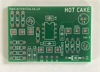 Hot Cake Overdrive PCB circuit board DIY guitar effects pedal
