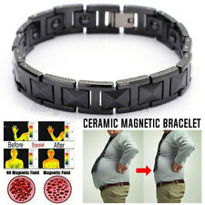 MEN'S TITANIUM SUPER STRONG MAGNETIC THERAPY BRACELET BIO HEALING ARTHRITIS