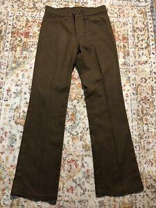 vintage 80's 70's levis sta prest 517 pants 29