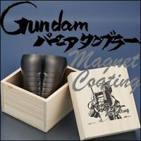 Gundam Vernier Tumbler Ion Plating Limited Model Made in Japan New