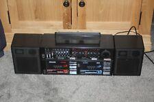 VINTAGE 80S PHILIPS D8458 SOUNDMACHINE BOOMBOX RADIO CASSETTE GHETTO BLASTER