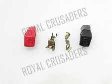 ROYAL ENFIELD BULLET ELECTRIC START BATTERY TERMINAL +ve & -ve #RE79