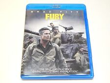 New Fury Blu-ray Disc & SD Ultraviolet Code | Brad Pitt, Shia LaBeouf