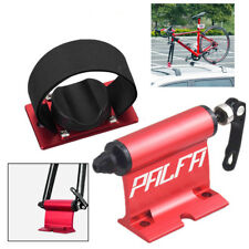 Brand New ! Quick-release Alloy Fork lock Alloy Roof Mount Bike Rack Alloy Red
