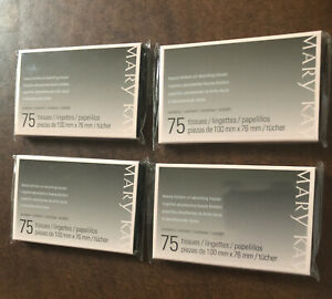 Mary Kay Beauty Blotters Oil Absorbing Tissues Lot Of 4 New