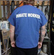 Authentic Prisoner INMATE WORKER Shirt, Real Uniform