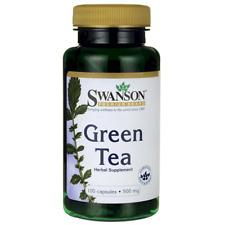 Green Tea 100 Capsules 500mg Fat Burner Pill Weight Loss