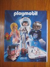 Playmobil 2016 CATALOG hockey arena 5068 NHL 5303 dollhouse princess pirates set