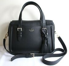 NWT Kate Spade New York Orchard Street Collection Elowen BLACK Satchel $398