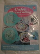 Deagostini Cake Decorating Magazine ISSUE 131 WITH 2 PEACOCK STENCILS
