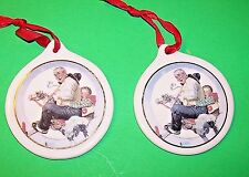 """1997 Jc Penny Ornament Gramps At Reins Norman Rockwell """"Free Shipping"""""""