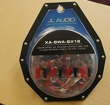 JL Audio XA-SWA-SX16 Assorted Speaker Connectors for 16 gauge wires 192 pieces