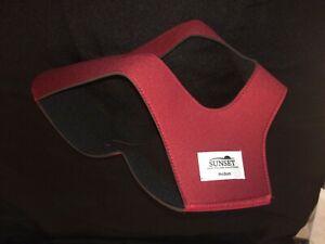 New Medium Sunset Ruby Style Chin Strap - Latex Free Neoprene - MPN CS007M