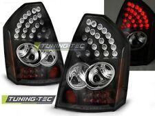 LED Luces Traseras Para Chrysler 300C 05-08 Negro LED..