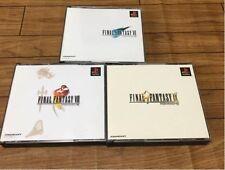 PS1 Final Fantasy VII VII IX set FF 7 8 9 Japan PS PlayStation 1 F/S