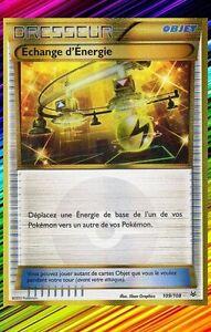 Echange d'Energie Secret-XY6:Ciel Rugissant-109/108-Carte Pokemon Neuv Française