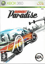BURNOUT PARADISE for Xbox 360 - with box & manual - PAL