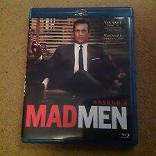 Mad Men - Season Three (Blu-Ray) Sweeden Issue English speaking FREE POSTAGE UK