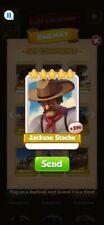 Coin Master Cards Jackson Stache 10X
