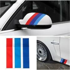 3x M Power Stickers Sport Stripe BMW M3 M5 M6 E46 Car Bike accessories 🇬🇧