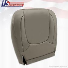 2004 2005 Dodge Ram 3500 Laramie Driver Side Bottom Leather Seat Cover Taupe