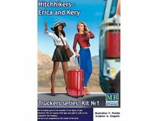 Masterbox 24041 1:24th scale Truckers Series Hitchhikers Erica & Kery figures