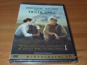 Out of Africa (DVD, 2000, Widescreen) NEW