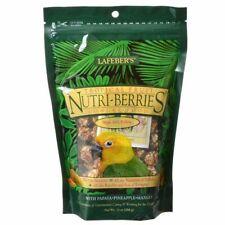 Lafeber TROPICAL FRUIT Nutri Berries CONURE Food 10 oz Nutritious Papaya Mango