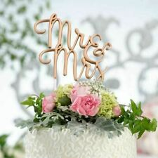 Wedding Cake Topper Mr and Mrs Decorations Supplies