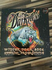More details for the darkness winter tour 2004 programme.