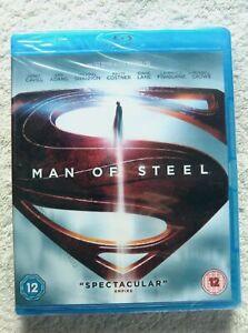 74532 Blu-ray - Man Of Steel [NEW / SEALED]  2013  5000172444