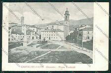 Grosseto Castel del Piano cartolina QQ3484