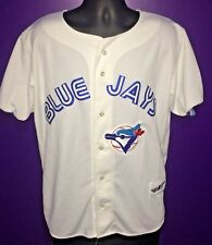 Toronto Blue Jays Baseball Ravens Knit MLB Jersey Size XL Made In Canada White