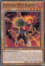 ( ELEMENTAL HERO BLAZEMAN) - Common - LEHD-ENA16 - 1st - NM - Yu-Gi-Oh Hero Deck