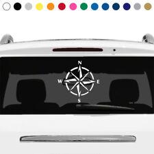 Compass Naval Ship Nautical Star Rear Window Sticker Decal Car Truck Laptop v1