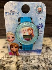 Disney Frozen Rotating Flash LCD Watch