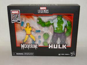 Marvel Legends 80th WOLVERINE & HULK BRAND NEW