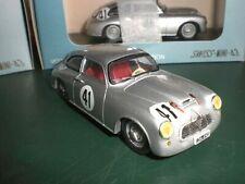 Swiss-Mini-43 #008A - Borgward 1500 RS 24h du Mans 1953 #41 - 1:43 Spark Resin