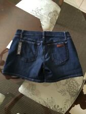 NWT JOE'S Jeans – Size 28 – Darker Color: MONROE Trouser Pkt Denim Shorts Cute!