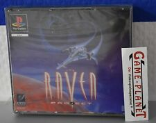 The Raven Project OVP in Folie Sony Playstation 1 P1 PSX Pone NEU NEW BOX