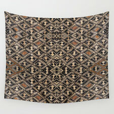 Wall Tapestry 51x60 ~ Exclusive African Kuba Cloth Design #2