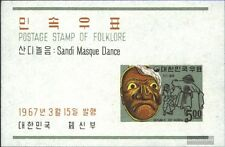 South-Korea block249 (complete issue) unmounted mint / never hinged 1967 Folklor