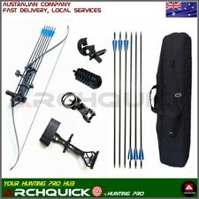 New Recurve Bow Set Q103 Archery Takedown  60 Inch Target Hunting 30-60lbs R/H