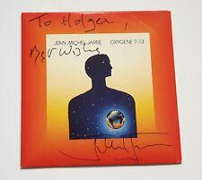 Jean Michel Jarre Oxygene 7 -13 CD  PROMO SIGNED !!! Ultra RARE!!