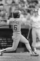Original 35MM B&W Negative, Atlanta Braves Rafael Ramirez May 10, 1984
