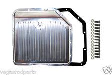 Polished Aluminum 350 Transmission Pan drain plug GM Chevy Turbo chevrolet trann
