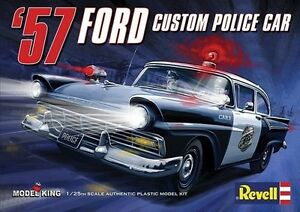 Revell 4081 limited run of 3000  1957 Ford 300 Police Car new in the box
