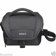 SONY LCS-U11 Camera Bag with Strap made for NEX / CyberShot / Alpha / HandyCam