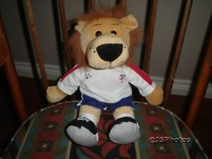 PMS Toys Uk British Lion Soccer / Rugby Player Plush