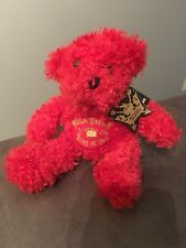 NWT Michael Jackson This Is It Tour Red Bear Concert Plush Doll King of Pop 2009